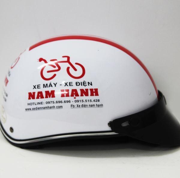 Mũ bảo hiểm nón quảng cáo w17
