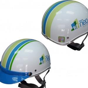 Mũ bảo hiểm quảng cáo w2