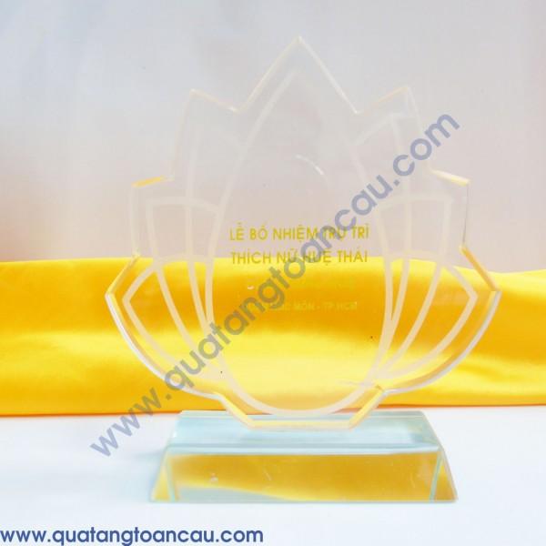 Biểu trưng pha lê quà tặng 35