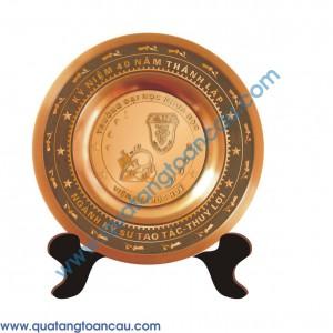 Biểu trưng gỗ đồng 30